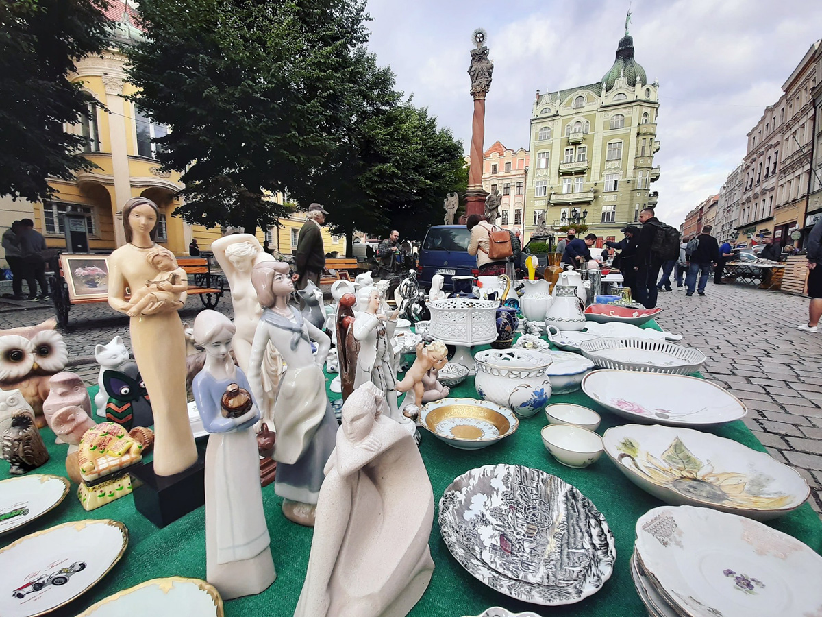 Giełda staroci wraca na świdnicki Rynek