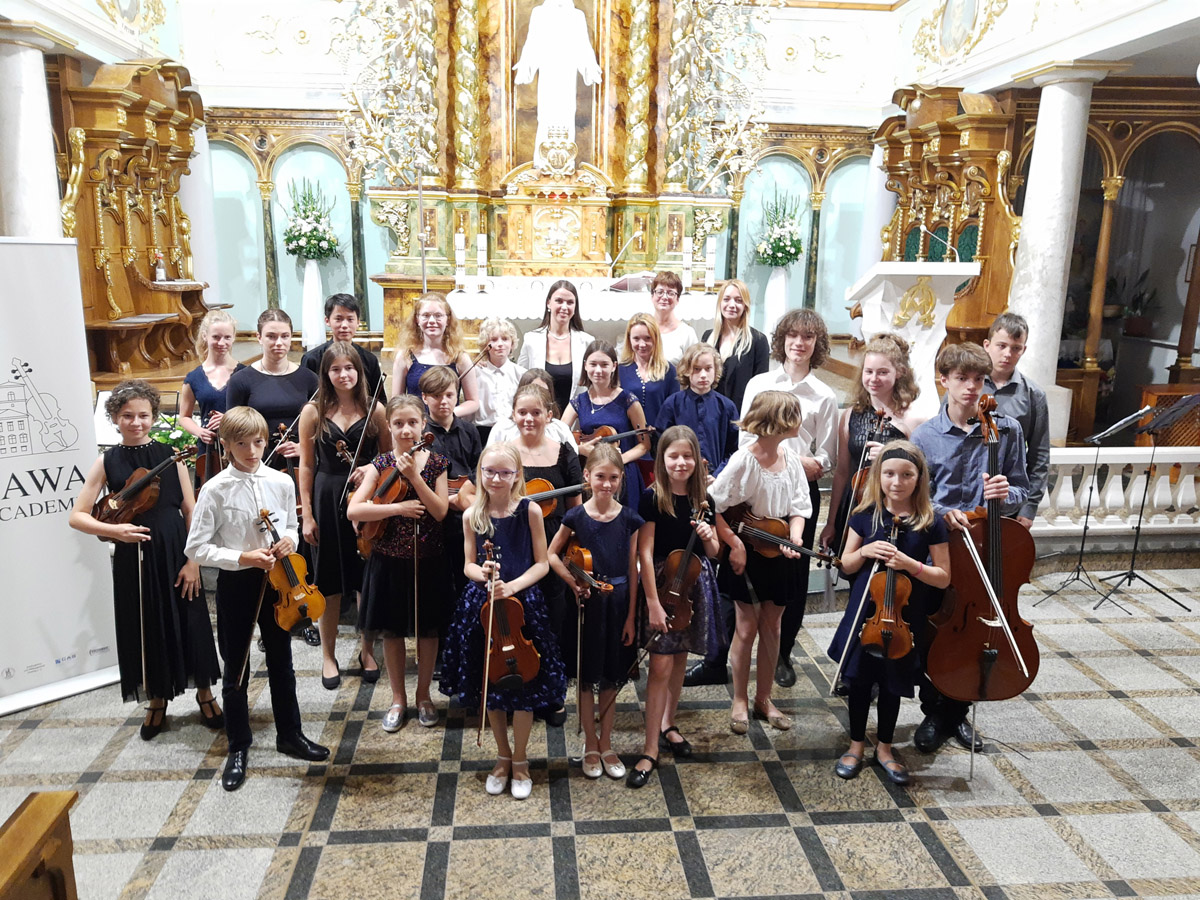 Mozart, Vivaldi i Torelli rozbrzmieli w Strzegomiu [FOTO+FILM]