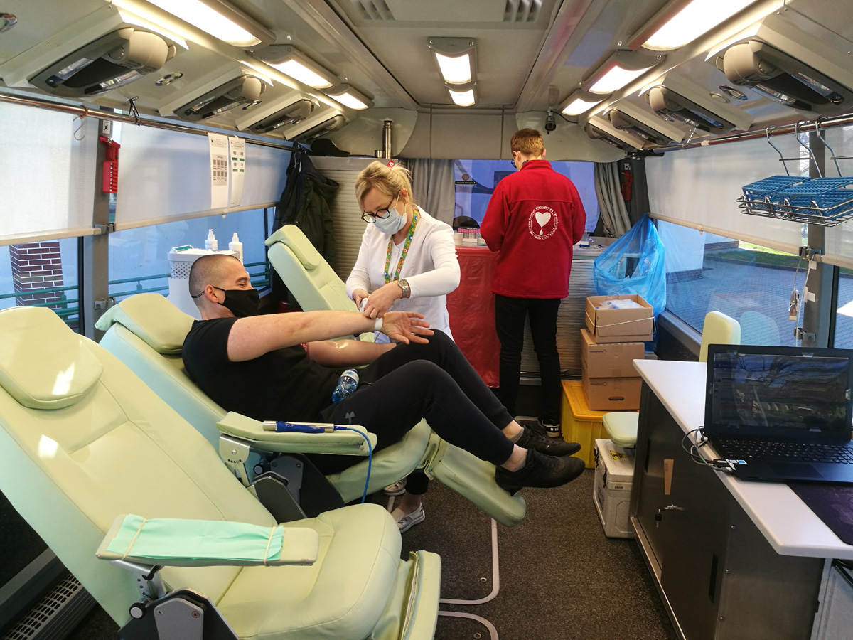 Strzegomscy wolontariusze oddali 13,5 litra krwi [FOTO]