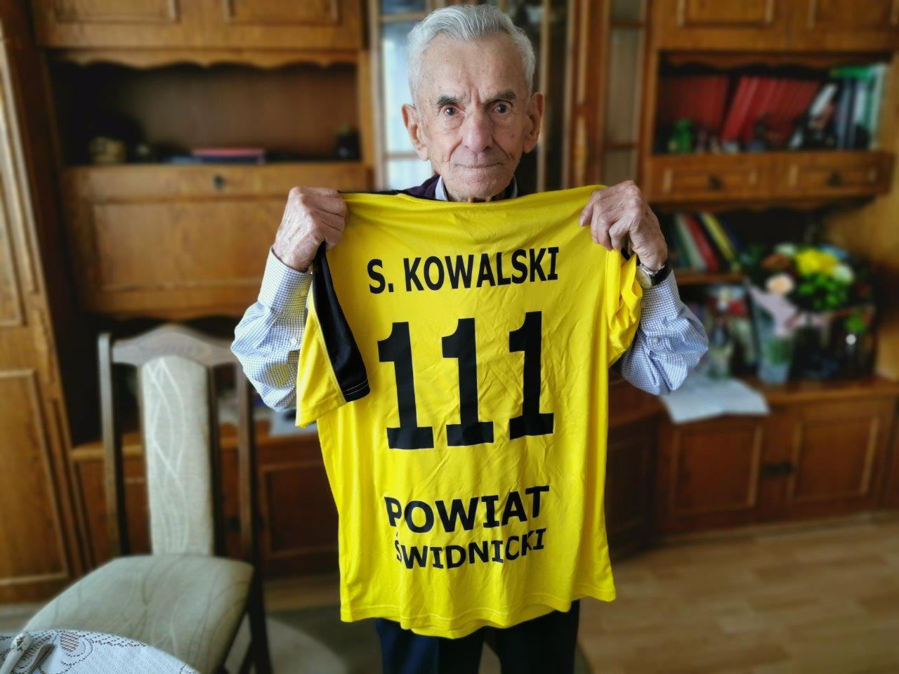 111 urodziny Pana Stanisława Kowalskiego [FOTO]