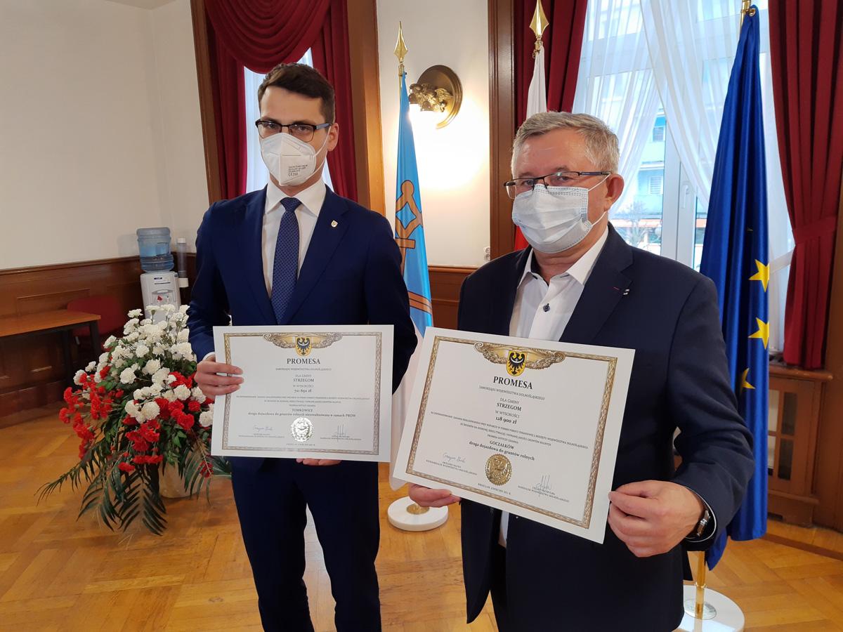 Gmina Strzegom dostanie 850 tys. zł na ochronę gruntów rolnych [FOTO]